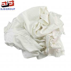 Cheap No Zipper Marine Cleaning Cotton T Shirt Rags 10kg/bale for sale