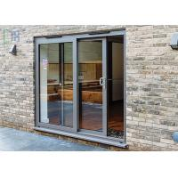 Cheap Custom Aluminium Sliding Patio Doors Weather Proof and Sound Proof for sale