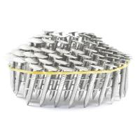 Buy cheap Q195 2-1/4''x0.099'' Diamond Point Stainless Steel Coil Roofing Nails For from wholesalers