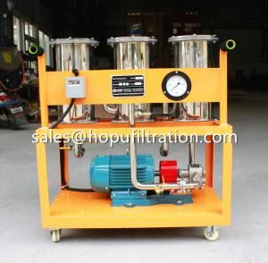 Cheap Stainless Steel Type Portable Oil Filtration Unit, Small Oil Cleaner, Movable Oil Purifier for sale