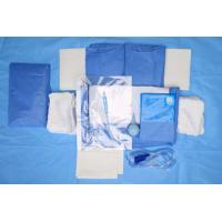 Cheap Custom Breathable Disposable Sterile Drape Sheets , Abdominal Drape for sale