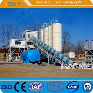 Cheap BP2000B Belt Conveyor 75KW 40m³/h Precast Batch Plant for sale