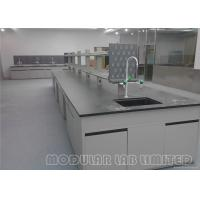 Cheap Science Lab Furniture , School Laboratory Furniture With Lab Stools for sale