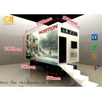 Cheap 7D 8D Mobile Movie Theater Machine Theme Park VR Truck Mobile Equipment for sale
