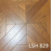Oak wood parquet floor
