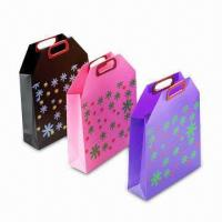 Cheap PVC/PP Shopping Bags with Handle, Various Styles and Colors are Available for sale