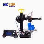 Cheap Portable home desktop 3d printer printing size 130*150*100mm , 0.4mm Nozzle for sale