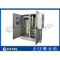 Buy cheap Two Bay 30U Base Station Cabinet  Integrated Temperature Control Double Layer from wholesalers