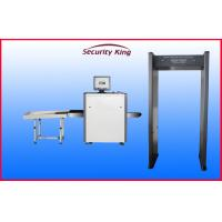 Security Check Airport Walk Through Security Metal Detectors with Sound Light Alarm