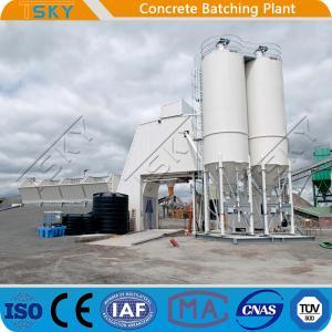 Cheap Flat Belt Conveyor Feeding 180m3 RMC Concrete Batching Plant for sale