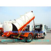 Cheap SINOTRUCK 10M3 4X2 Sewage Suction Truck ZF8098 , 371HP Sewage Vacuum Truck for sale