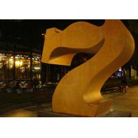 Cheap Professional Number 7 Corten Steel Sculpture Without Base 180cm Height for sale