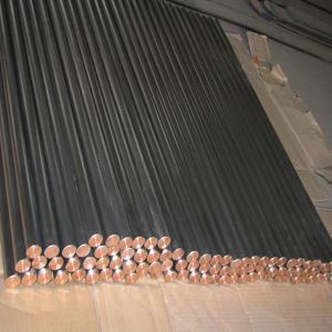 titanium clad copper round bar