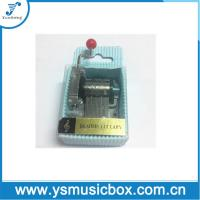 Cheap Blue Paper Material Yunsheng 18 Tune Hand-crank music box PVC sleeve(YH2/c-49) for sale