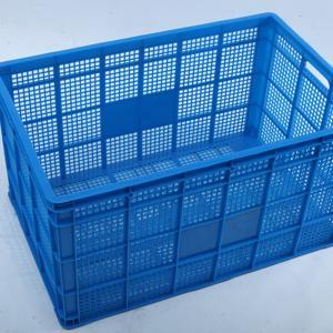 Cheap HDPE Plastic Basket / Square plastic basket /Plastic Shopping Basket for sale