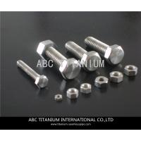 Cheap DIN titanium anchor bolt/bolts and nuts/wheels bolts titanium ti 6al 4v/motorcycle equip for sale