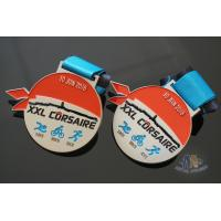 Cheap XXL CORSAIRE Die Cating Awards Custom Sports Medals, Zinc Alloy Material With Soft Enamel Colors for sale