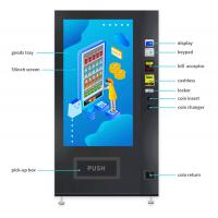 Buy cheap Touchscreen Small Drink Vending Machine , Black Vending Machine Equipment from wholesalers