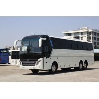 Cheap 5800mm Wheelbase Kinglong 58 Seats Used Passenger Bus for sale