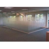Cheap 4mm  - 19mm Thickness Clear Frosted Glass , Tinted / Colored Frosted Glass for sale