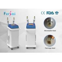 China 100ms~600ms adjustable  radio frequency treatment for wrinkles microneedling acne scars on sale