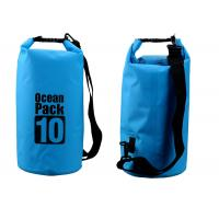 Cheap Outdoor Activities 10l Dry Storage Bags Watertight With Shoulder Strap for sale