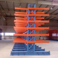 Buy cheap Heavy Duty Cantilever Storage Rack Custom Size For Long Items Storage from wholesalers