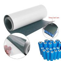 Cheap 18650 26650 21700 Battery Pack Insulation Paper Fish Paper With Adhesive One Side for sale