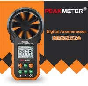 Cheap Hand Held Environmental Meter Air Volume Wind Velocity Meter Data Uploading Functions for sale