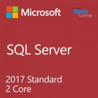 Cheap 2017 Sql Server 2 Core License 1 Admin User Microsoft Standard With 2.0 GHz for sale