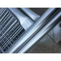 Cheap temporary fencing panels 2100mm x 2400mm hot dipped galvanized 42 microns OD 32 pipes x 2.00mm NZ standard for sale