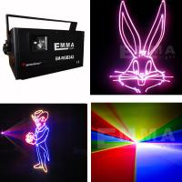 Cheap 2000mW 2W RGB FULL COLOR ILDA ANIMATIC stage laser light for DJ Disco and Bar for sale
