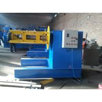 Cheap 5 / 6 Tons Hydraulic Decoiler Machine 4KW Hydraulic Motor For Loading Steel Coils for sale