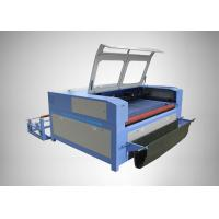China Water Cooling Fabric CO2 Laser Engraving Machine High Speed For Autocar Seat Cover on sale