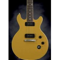 Cheap Gibson Les Paul Special Double Cut Trans Yellow Double Neck Guitar for sale