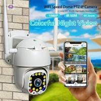 Cheap HD 1080P PTZ WIFI Camera Outdoor Auto Tracking Speed Dome WiFi Wireless CCTV Camera Made In China for sale