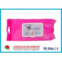 Cheap Healthy Reusable Wet Wipes Tissues / Eco Friendly Organic Wet Wipes for sale