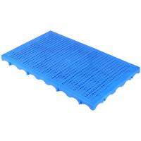 Cheap P1006 Very light weight  Warehouse dampproof  mini plastic floor pallet slat sheet  for exporting  100*60*5 cm for sale