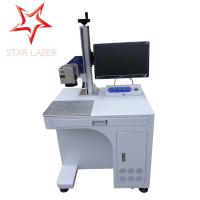 Cheap Keyboard Portable Fiber Laser Marking Machine Compact Without Consumptive Materials for sale