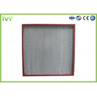 Cheap Thermostable Hepa Dust Filter , Custom Hepa Filter Large Air Flow 320×320×220mm for sale