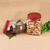 Buy cheap Eco - Friendly 20oz Square Pet Jar For Nuts Packaging 660ml ISO 9001 from wholesalers