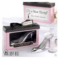Cheap New creative gift product wedding gift High-heeled shoes bottle opener for sale