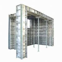 Cheap Building Concrete Forming Aluminum Formwork System ,  Concrete Wall Formwork for sale