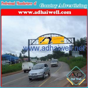 Gantry Advertising Cross Road Billboard Display