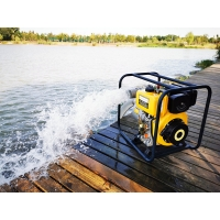 Cheap 4KW EPA 80mm Diesel Powered Water Transfer Pumps for sale