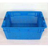 Cheap Plastic Nestable and stackable mesh crate 630*420*315 mm for sale