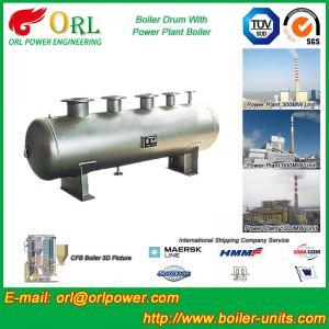 Reduce emissions gas steam boiler mud drum TUV
