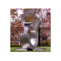 Cheap Trielements Design Forging Stainless Steel Outdoor Fountains For Garden Decor for sale