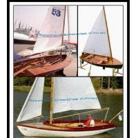 China Mirror Sailing Classic Wooden Boats-Professional Wood Boats Builder on sale