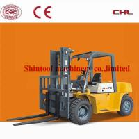 Cheap Custom Oil Diesel Forklift Truck 4420mm Lift Height With 5.0T Banlance Weight Type for sale